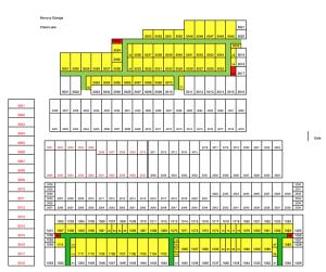 Cheat Lake Unit Map  sc 1 st  Mercury Storage & Self Storage Unit Maps for Cheat Lake and West Run Morgantown WV